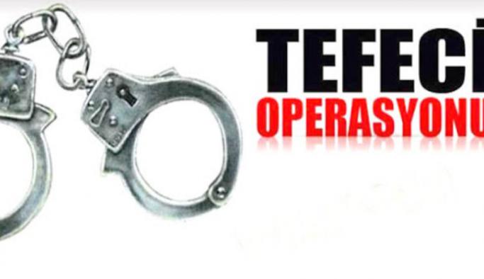 Alanya'da tefeci tutuklandı
