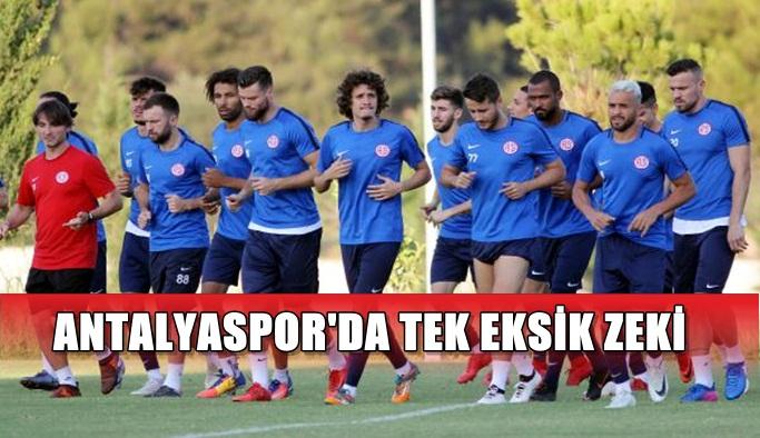 Antalyaspor'da tek eksik Zeki