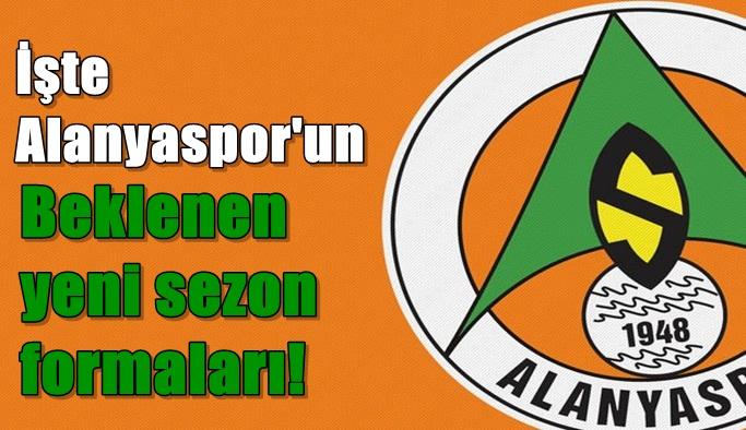İşte Alanyaspor'un yeni sezon formaları