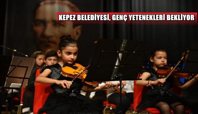 Kepez Belediyesi, genç yetenekleri bekliyor