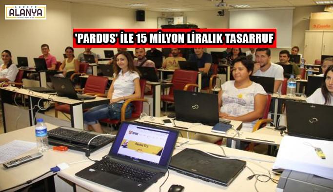 Akıllı tahtalarda 'Pardus' ile 15 milyon liralık tasarruf