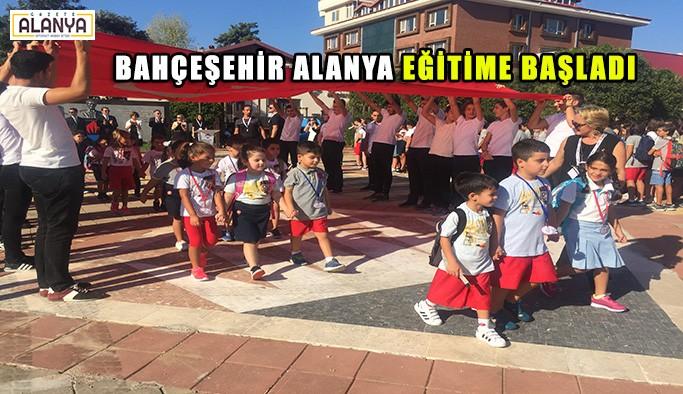Bahçeşehir Alanya'da eğitim başladı