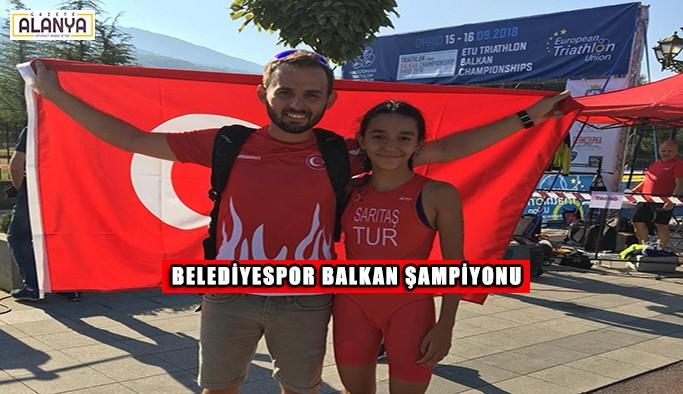 Belediyespor Balkan Şampiyonu oldu