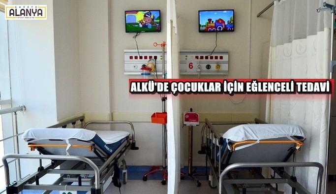 Çocuk hastaların  tedavileri daha eğlenceli!