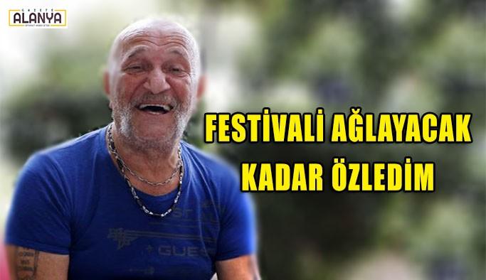 Coşkun Göğen: Festivali ağlayacak kadar özledim