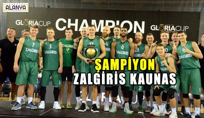 Gloria Cup'ta şampiyon Zalgiris Kaunas