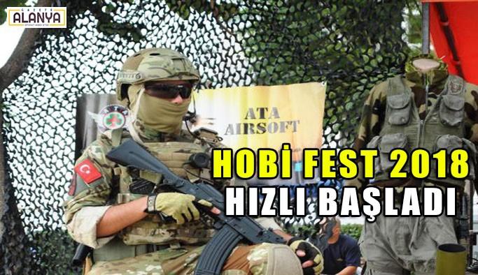 Hobi Fest 2018 hızlı başladı