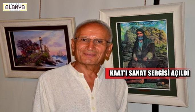 Kaat'ı sanat sergisi açıldı