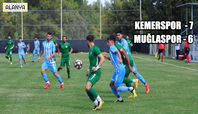 Kemerspor 2003 - Muğlaspor: 7-6