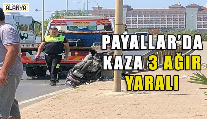 Payallar - Türkler sınırında kaza