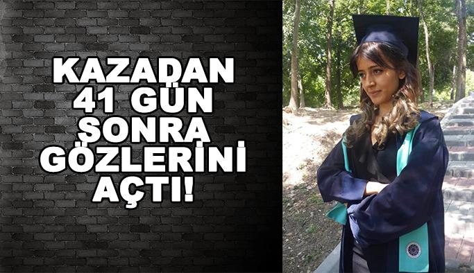 Seda Nur, 41 gün sonra gözlerini açtı