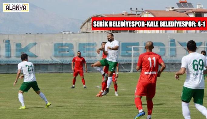 Serik Belediyespor-Kale Belediyespor: 4-1