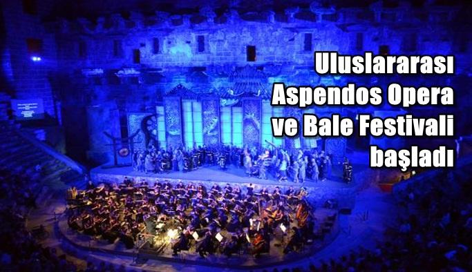 Uluslararası Aspendos Opera ve Bale Festivali başladı