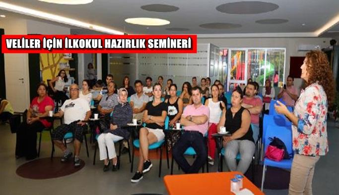 Velilere ilkokula hazırlık semineri