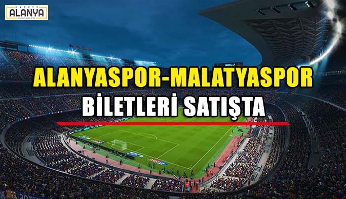 Alanyaspor-Malatyaspor maçı biletleri satışta