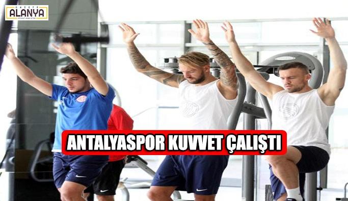 Antalyaspor kuvvet çalıştı