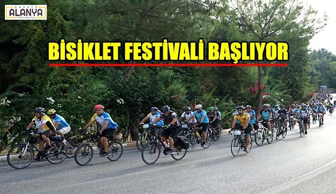 Bisiklet festivali başlıyor