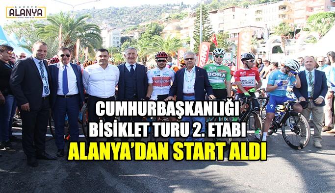 Cumhurbaşkanlığı 54. Bisiklet Turu 2. Etabı Alanya'dan start aldı
