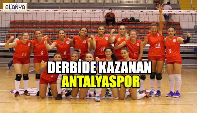 Derbinin kazananı Antalyaspor