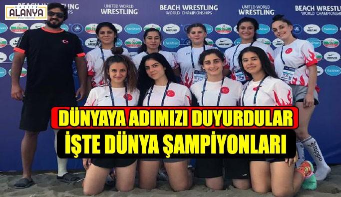 Dünyaya adımızı duyuran şampiyonlar