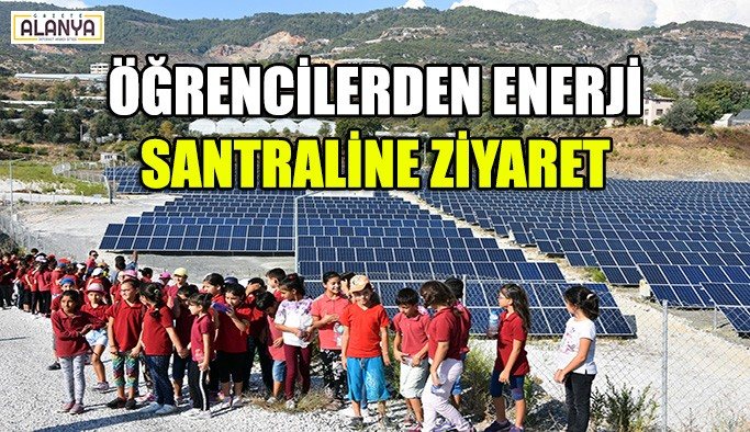 Öğrencilerden enerji santraline ziyaret