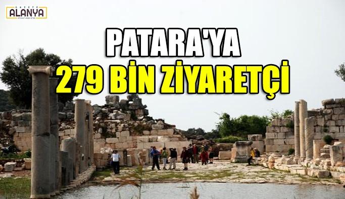 Patara'ya 279 bin ziyaretçi