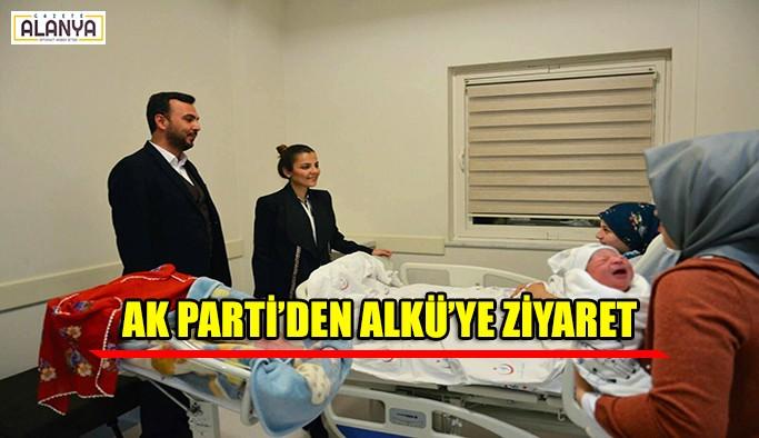 AK Parti'den ALKÜ'ye ziyaret
