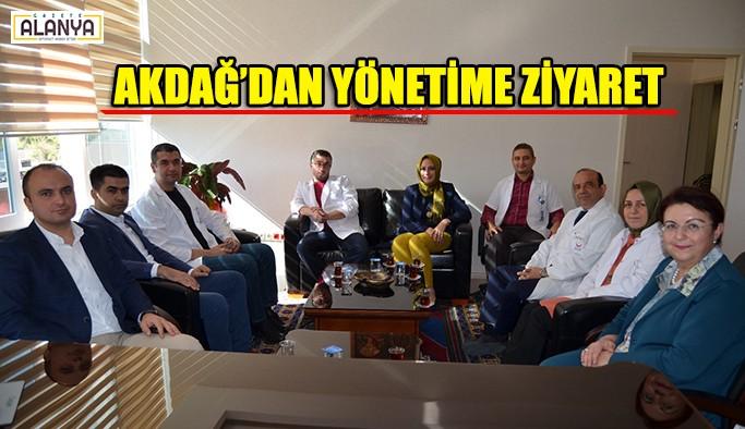 Akdağ'dan yönetime ziyaret