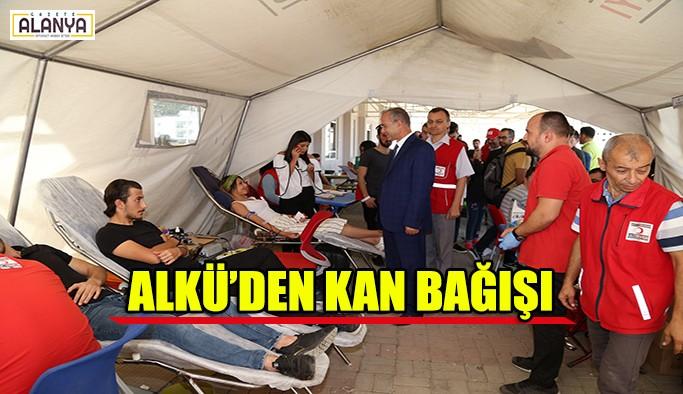 ALKÜ'den kan bağışı
