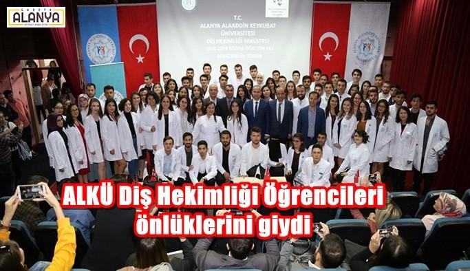 ALKÜ Diş Hekimliği Öğrencileri önlüklerini giydi