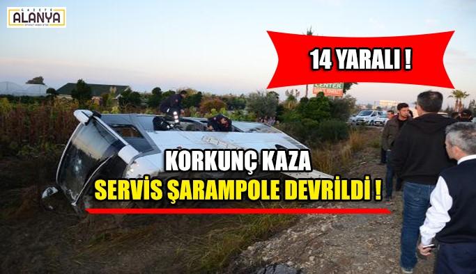 Korkunç Kaza 14 yaralı !