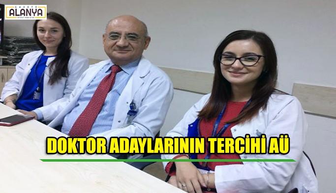 Romanyalı doktor adaylarının tercihi AÜ