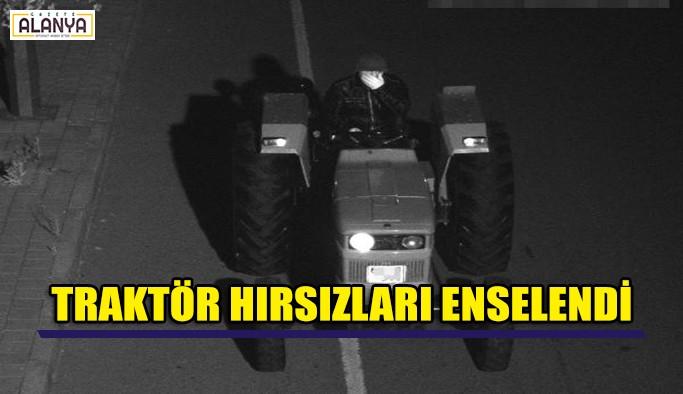 Traktör hırsızları enselendi