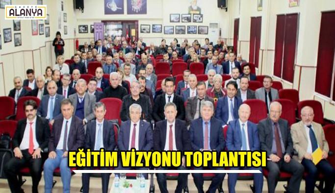 2023 Eğitim Vizyonu toplantısı