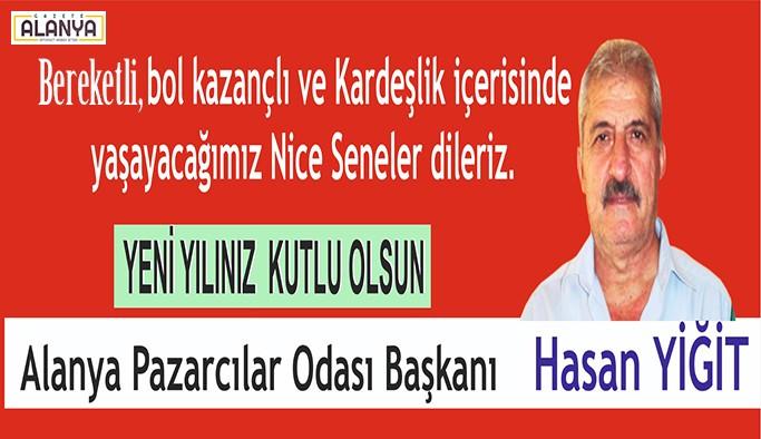 Hasan Yiğit'ten yeni yıl mesajı