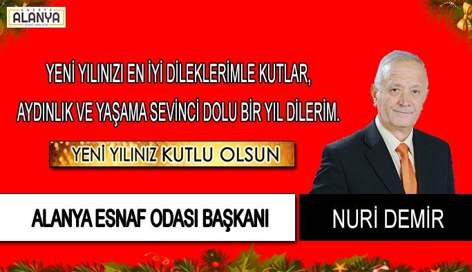 Nuri Demir'den yeni yıl mesajı