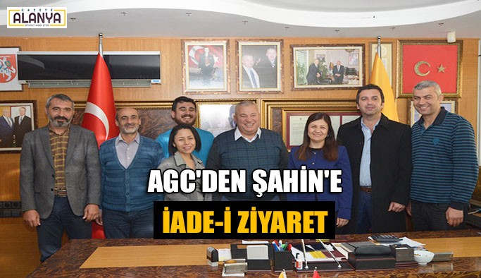 AGC'den Şahin'e iade-i ziyaret