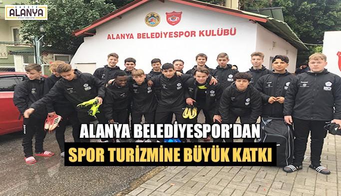 Alanya Belediyespor'dan spor turizmine büyük katkı