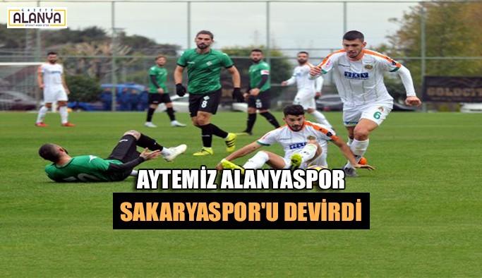 Aytemiz Alanyaspor Sakaryaspor'u devirdi