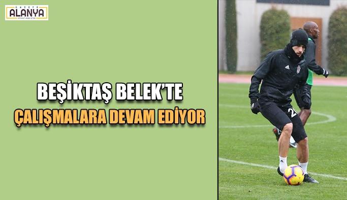 Beşiktaş Belek'te çalışmalara devam ediyor