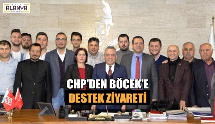 CHP'den Böcek'e destek ziyareti