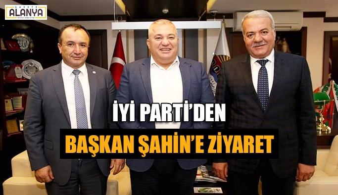 İYİ Parti'den Başkan Şahin'e ziyaret