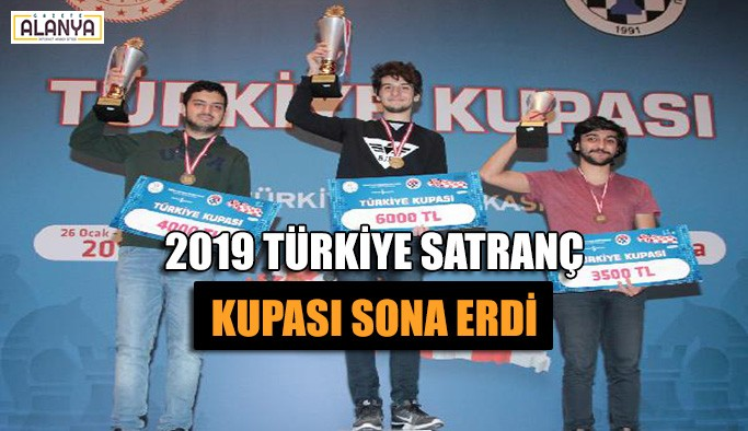 2019 Türkiye Satranç Kupası sona erdi