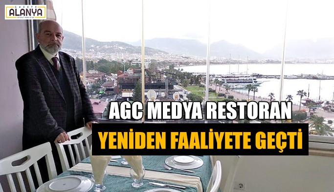 AGC Medya Restoran yeniden faaliyete geçti