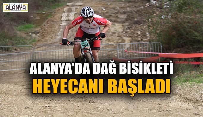 Alanya'da dağ bisikleti heyecanı başladı