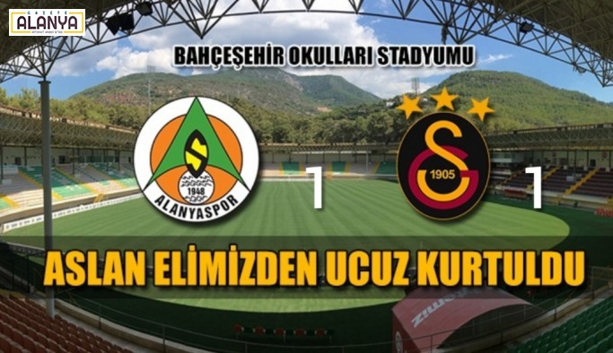 Alanyaspor1, Galatasaray 1