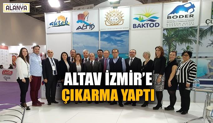 ALTAV İzmir'e çıkarma yaptı