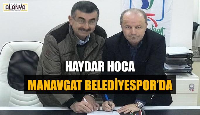Haydar Hoca Manavgat Belediyespor'da