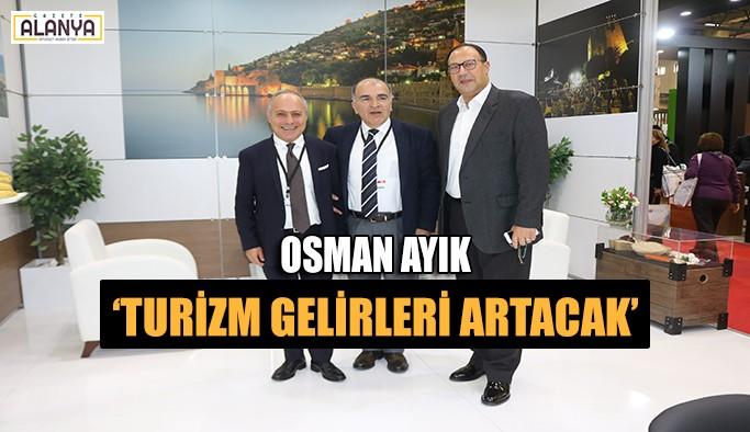 Osman Ayık: 'Turizm gelirleri artacak'
