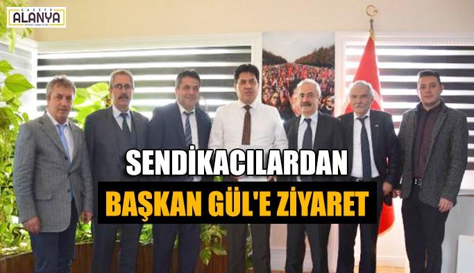 Sendikacılardan Başkan Gül'e ziyaret
